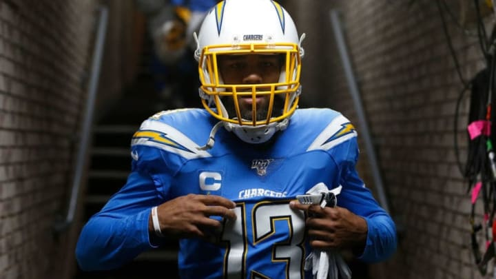 Wide receiver Keenan Allen #13 of the Los Angeles Chargers(Photo by Lachlan Cunningham/Getty Images)
