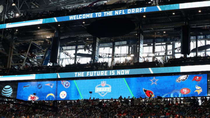ARLINGTON, TX - APRIL 26: A general view of AT&T Stadium prior to the first round of the 2018 NFL Draft on April 26, 2018 in Arlington, Texas. (Photo by Ronald Martinez/Getty Images)