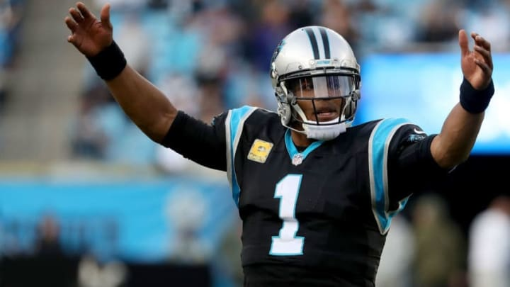 (Photo by Streeter Lecka/Getty Images) - LA Chargers Cam Newton