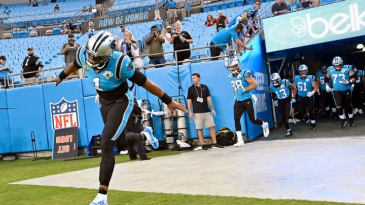 (Photo by Grant Halverson/Getty Images) - LA Chargers Cam Newton
