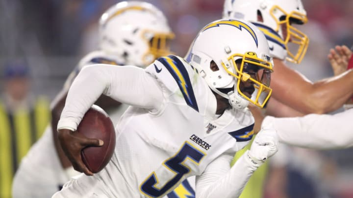 Tyrod Taylor #5 of the Los Angeles Chargers (Photo by Christian Petersen/Getty Images)