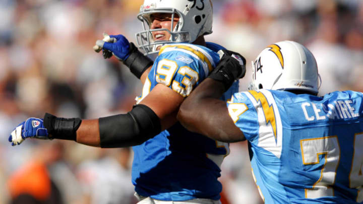 Luis Castillo LA Chargers (Photo by Kirby Lee/Getty Images)