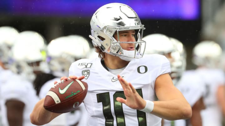LA Chargers News Justin Herbert (Photo by Abbie Parr/Getty Images)