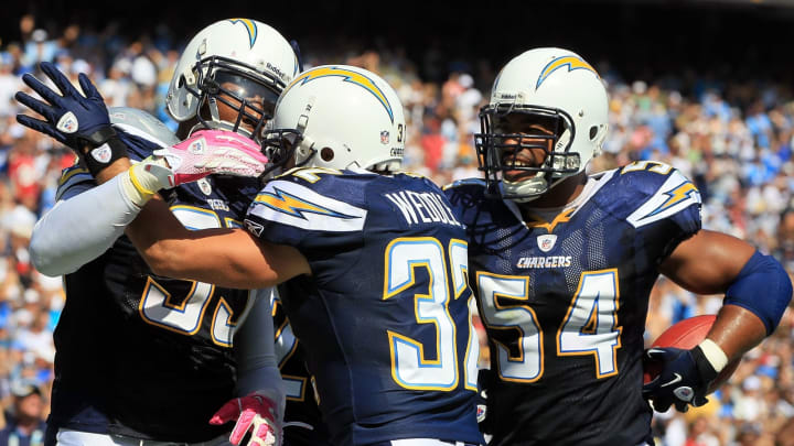 (Photo by Jeff Gross/Getty Images) – LA Chargers