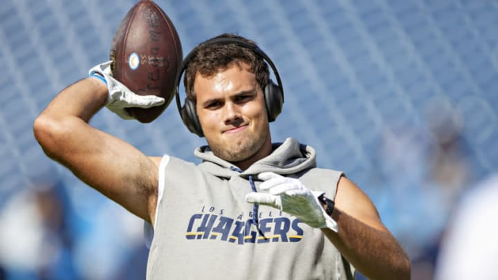 Hunter Henry of the LA Chargers (Photo by Wesley Hitt/Getty Images)