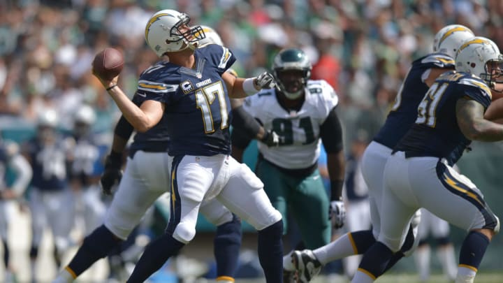 (Photo by Drew Hallowell/Philadelphia Eagles/Getty Images) – LA Chargers