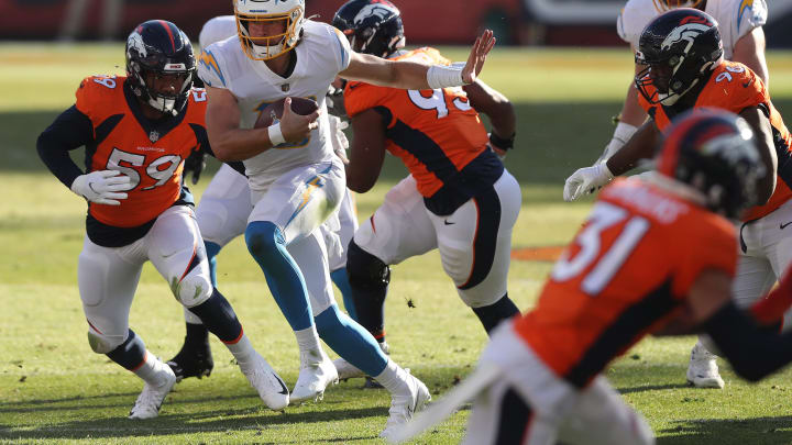 (Photo by Matthew Stockman/Getty Images) – LA Chargers