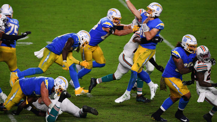 (Photo by Mark Brown/Getty Images) – LA Chargers