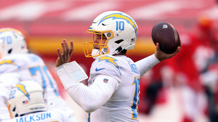 (Photo by Jamie Squire/Getty Images) – LA Chargers