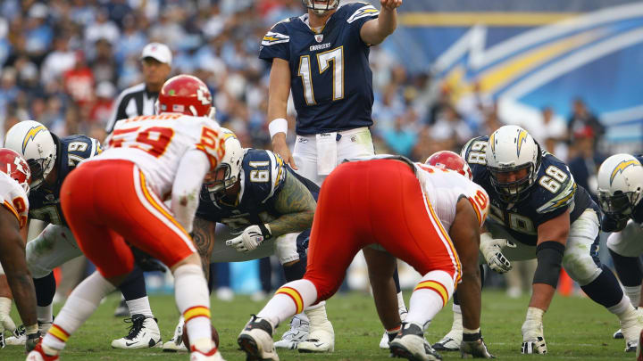 (Photo by: Jeff Gross/Getty Images) – LA Chargers