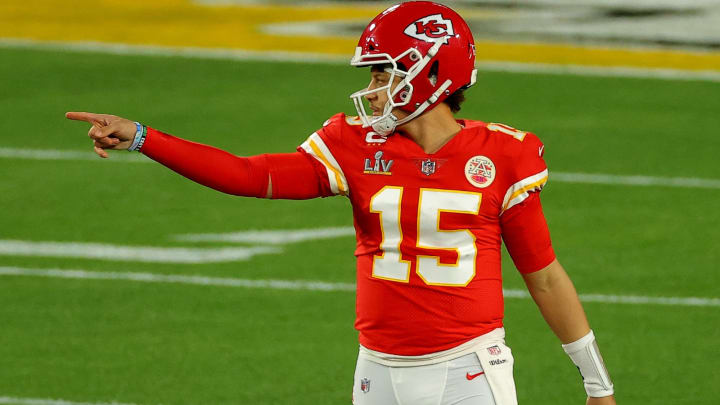 (Photo by Kevin C. Cox/Getty Images) Patrick Mahomes