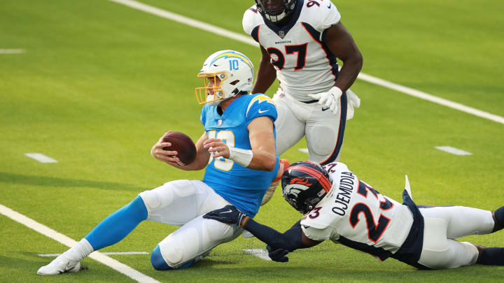 (Photo by Joe Scarnici/Getty Images) – LA Chargers