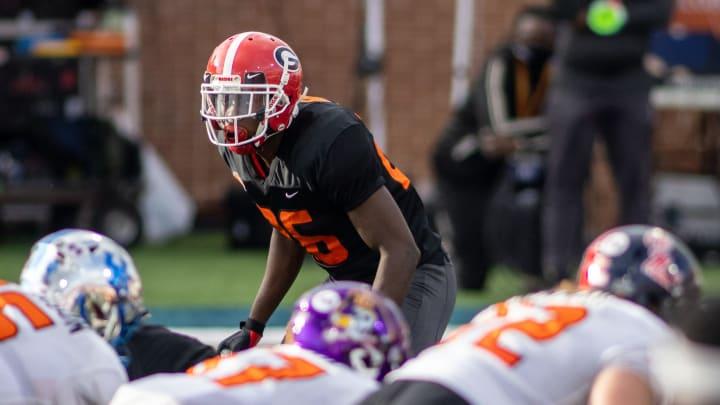 Mark Webb, Georgia Bulldogs
