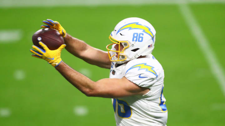 Hunter Henry of the LA Chargers (Mark J. Rebilas-USA TODAY Sports)