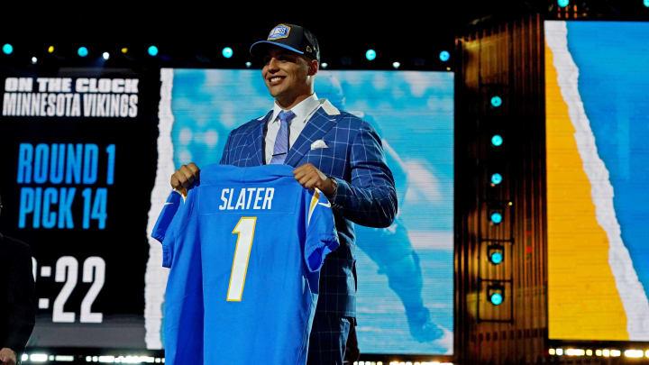 Rashawn Slater, LA Chargers, NFL Draft