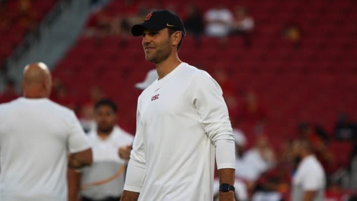 USC football coach Graham Harrell. (Alicia de Artola/Reign of Troy)