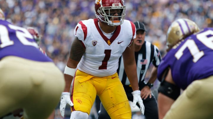 The USC depth chart at linebacker is looking for a resurgence. (Alicia de Artola/Reign of Troy)