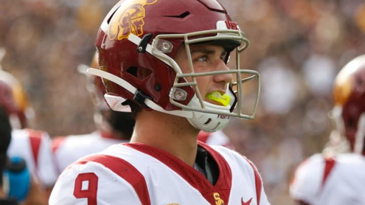 Kedon Slovis give USC an edge at quarterback. (Alicia de Artola/Reign of Troy)