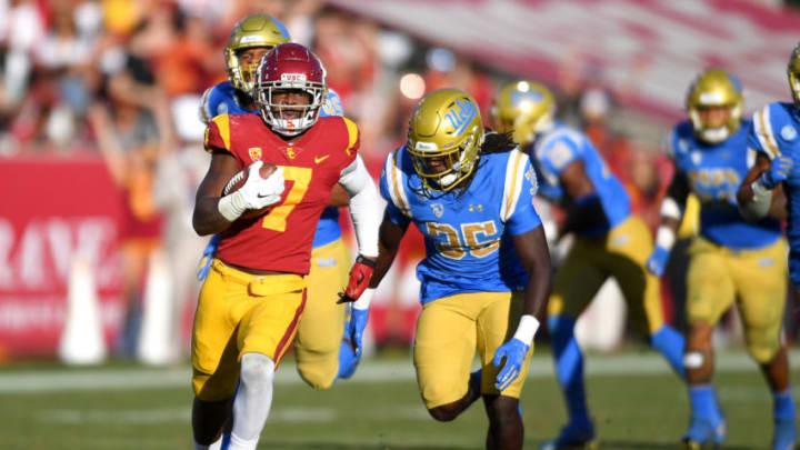 USC football running back Stephen Carr. (Jayne Kamin-Oncea/Getty Images)