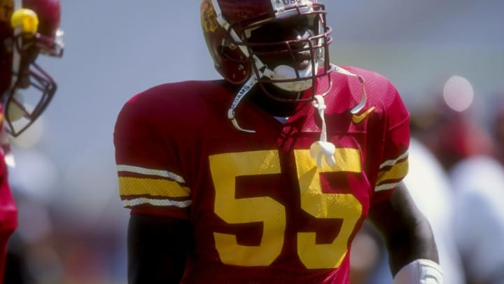 Chris Claiborne and other Trojan greats have elevated jersey numbers at USC.