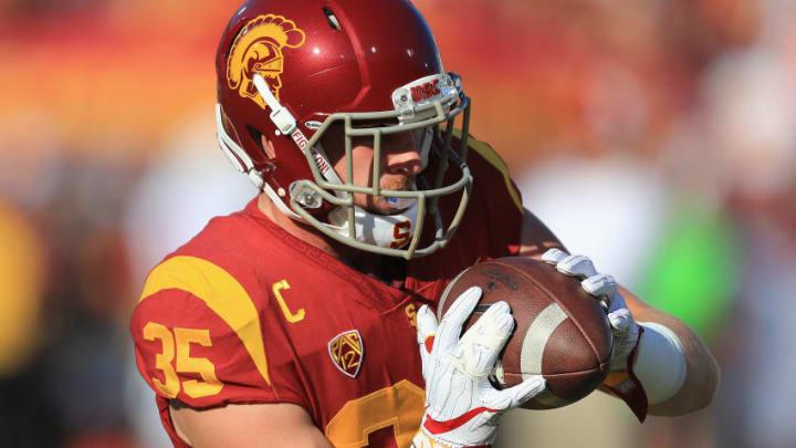 USC foootball linebacker Cameron Smith. (Sean M. Haffey/Getty Images)