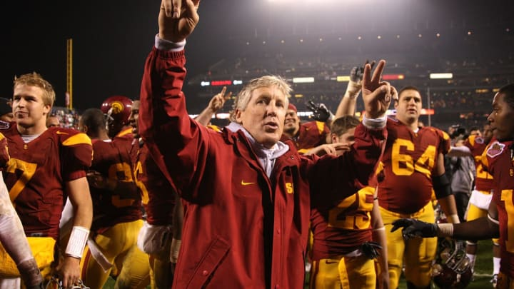 USC football's dream coaching staff would make mouths water. (Jed Jacobsohn/Getty Images)
