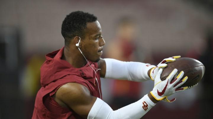 USC football CB Iman Marshall. (John McCoy/Getty Images)