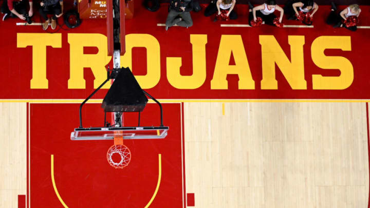 USC basketball court. (Jayne Kamin-Oncea/Getty Images)