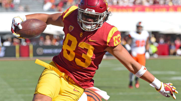 USC football tight end Josh Falo. (Jayne Kamin-Oncea/Getty Images)