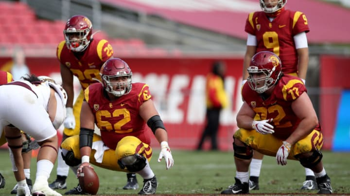 USC football center Brett Neilon. (Sean M. Haffey/Getty Images)