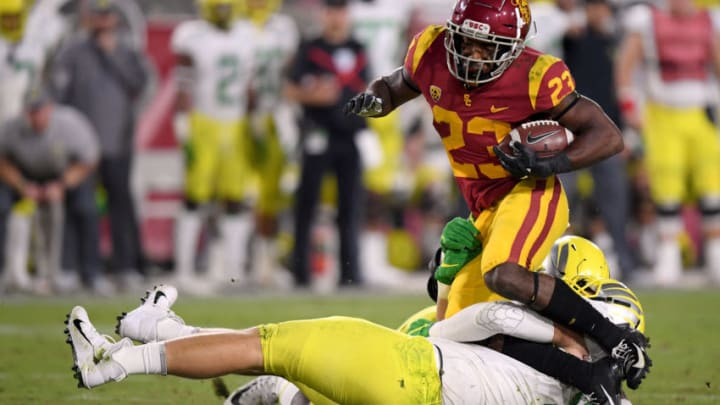 USC football running back Kenan Christon. (Harry How/Getty Images)