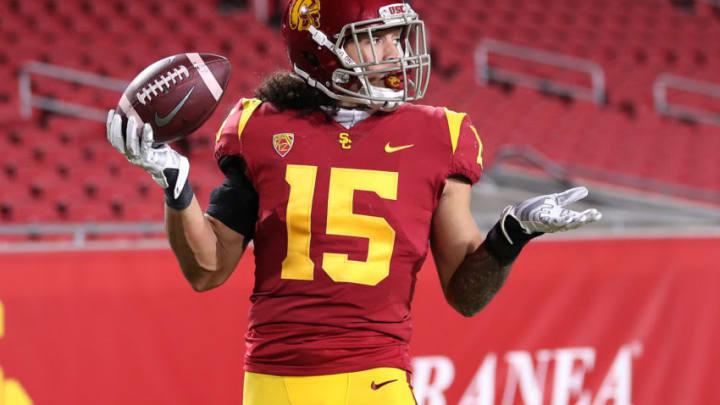 USC football safety Talanoa Hufanga. (Sean M. Haffey/Getty Images)