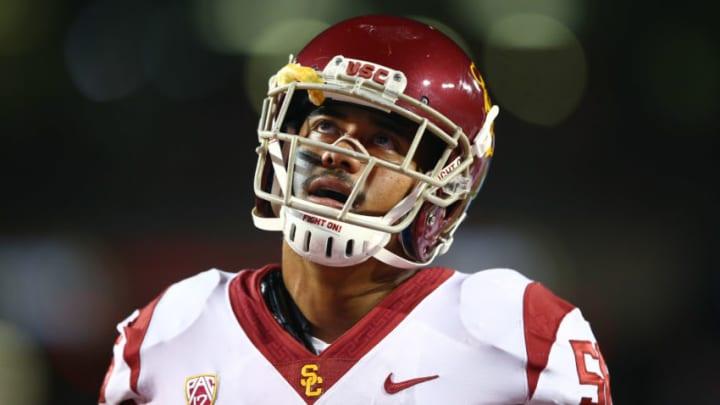 USC football linebacker Jordan Iosefa. (Mark J. Rebilas-USA TODAY Sports)