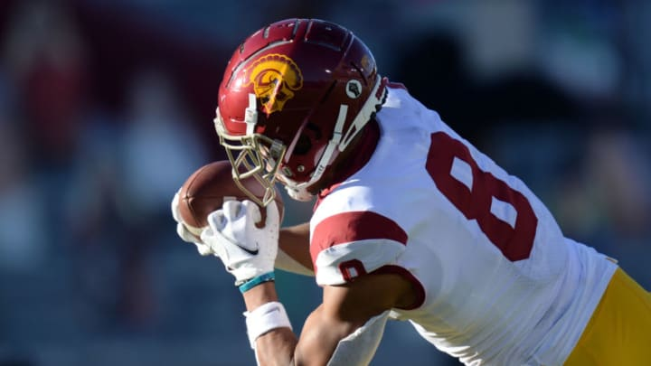 USC football wide receiver Amon-Ra St. Brown. (Joe Camporeale-USA TODAY Sports)