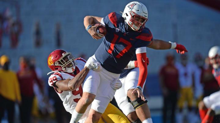 USC football pass rusher Drake Jackson. (Joe Camporeale-USA TODAY Sports)