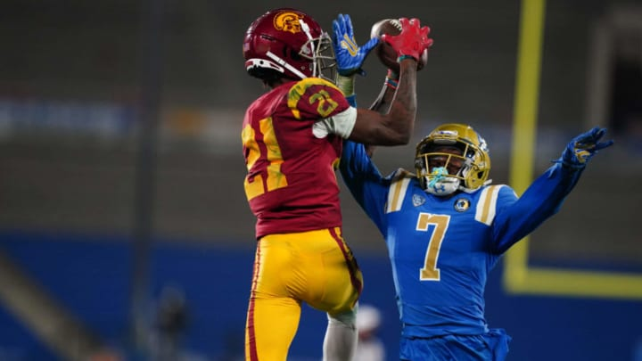 USC football receiver Tyler Vaughns. (Kirby Lee-USA TODAY Sports)