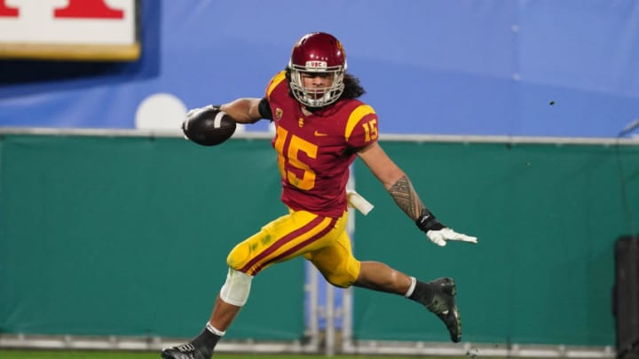 USC football safety Talanoa Hufanga. (Kirby Lee-USA TODAY Sports)