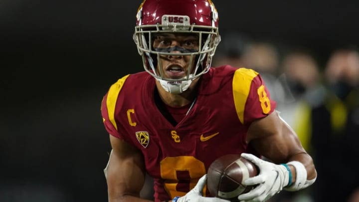 USC football wide receiver Amon-Ra St. Brown. (Kirby Lee-USA TODAY Sports)