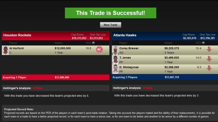 Horford trade for Polk