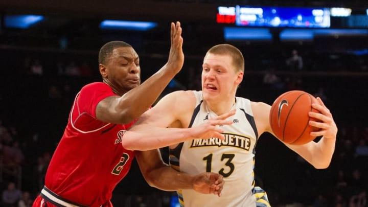 NCAA Basketball: Big East Conference Tournament-Marquette vs St. John