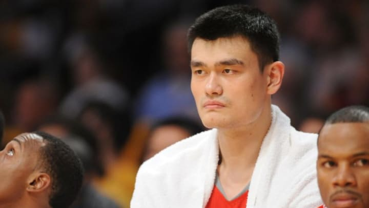Houston Rockets Yao Ming (Photo by Noah Graham/NBAE via Getty Images)