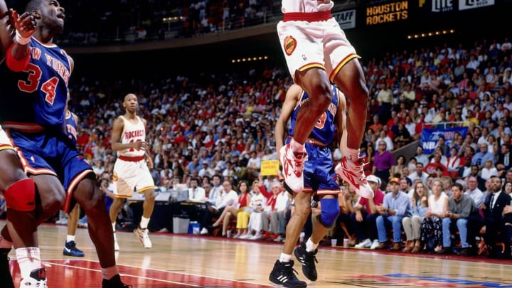 HOUSTON – JUNE 19: Mario Elie #17 of the Houston Rockets. Copyright 1994 NBAE (Photo by Andrew D. Bernstein/NBAE via Getty Images)