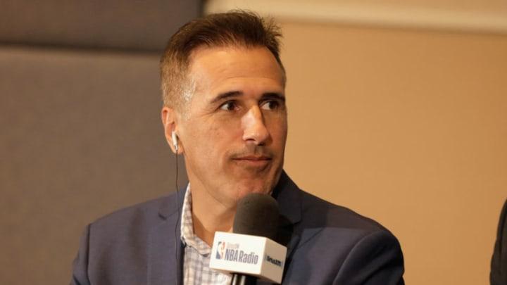 SiriusXM NBA Radio Host Frank Isola (Photo by David Surowiecki/Getty Images for SiriusXM)