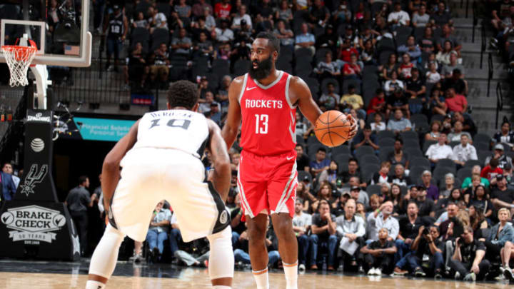 James Harden #13 of the Houston Rockets (Photo by Nathaniel S. Butler/NBAE via Getty Images)