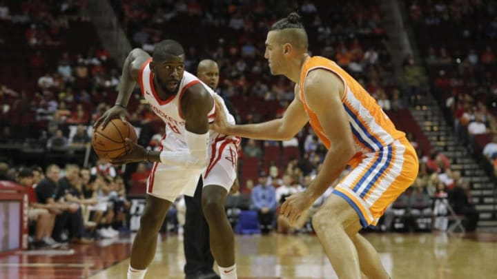 James Ennis III #8 of the Houston Rockets (Photo by Tim Warner/Getty Images)