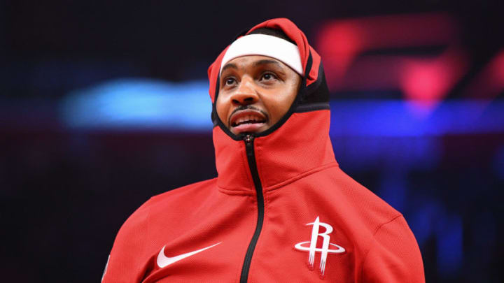Houston Rockets Forward Carmelo Anthony (Photo by Brian Rothmuller/Icon Sportswire via Getty Images)