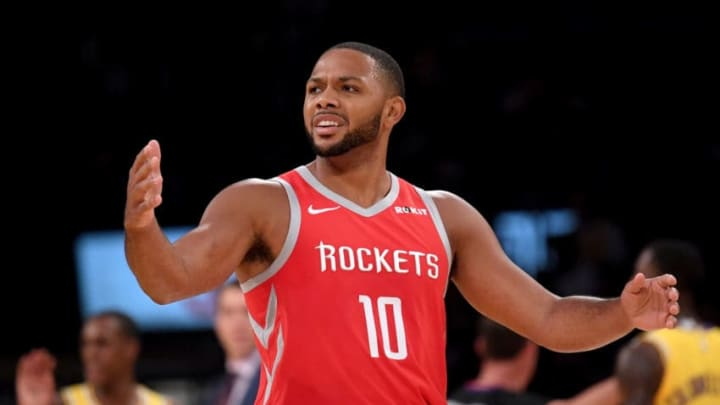 Eric Gordon #10 of the Houston Rockets (Photo by Harry How/Getty Images)