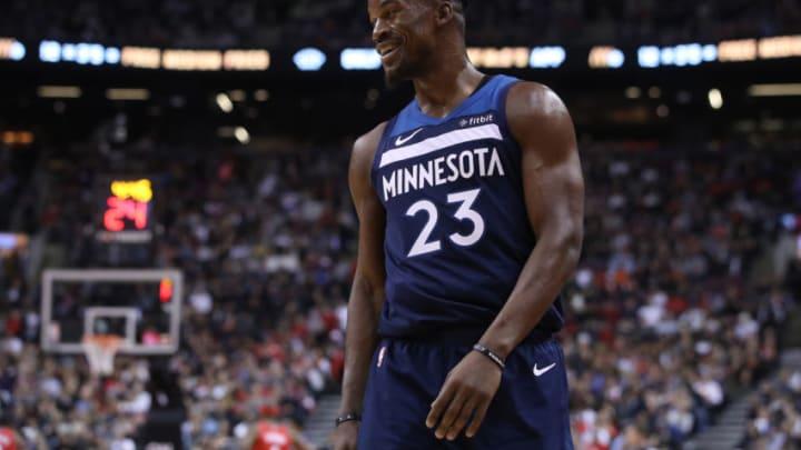 Minnesota Timberwolves guard Jimmy Butler (23) (Steve Russell/Toronto Star via Getty Images)