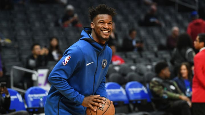 Minnesota Timberwolves Guard Jimmy Butler (23) (Photo by Brian Rothmuller/Icon Sportswire via Getty Images)