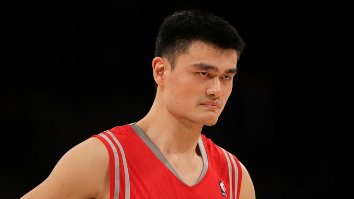 Yao Ming (Photo by Jeff Gross/Getty Images)